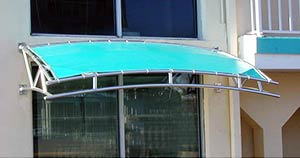 custom applications, commercial architectural awning