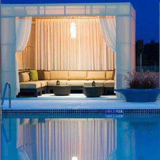 picture of custom cabana
