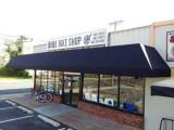 Kona bike shop with awning
