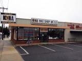Kona bike shop without awning